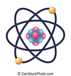 molécula, estructura, átomo