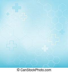Moléculas abstractas, antecedentes médicos.