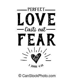 moldes, perfecto, amor, miedo, afuera