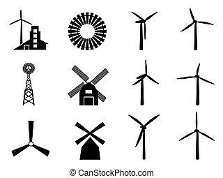 molino de viento, iconos