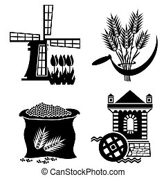 molino, iconos