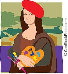 Mona Lisa artista