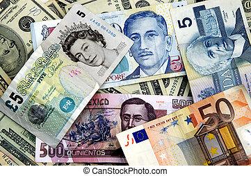 moneda mundo