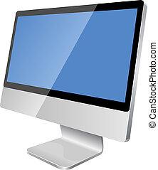Monitor LCD moderno