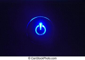 Monitorea el cierre de los botones en el botón de energía