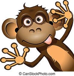 Mono gracioso