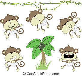 Monos bebés