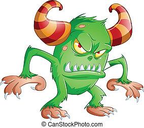 Monstruo de Halloween