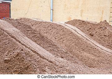 Montón de arena