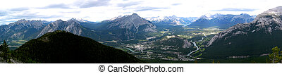 montaña, 3, panorámico