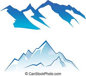 montaña, conjunto
