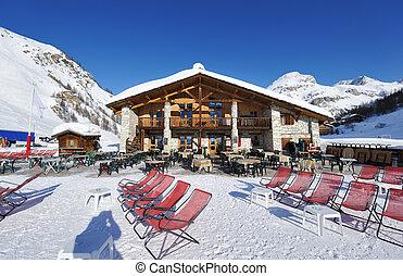 montaña, recurso esquí