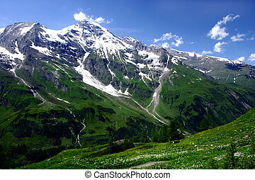 montañas, austria