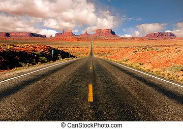 Monument Valley arizona milla 13 vista