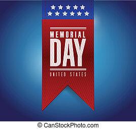 monumento conmemorativo, ilustración, señal, diseño, bandera, día