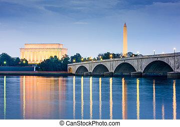 Monumentos de Washington DC