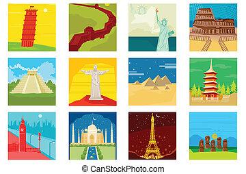 Monumentos famosos mundiales