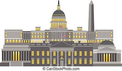 Monumentos y ilustraciones de Washington DC