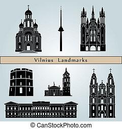 Monumentos y monumentos de Vilnius