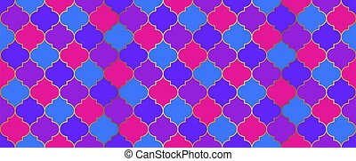 mosaico, design., seamless, tradicional, ramadan, grid., dorado, mezquita, marroquí