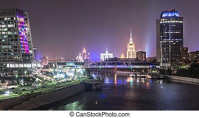 moscú, rusia, ciudad