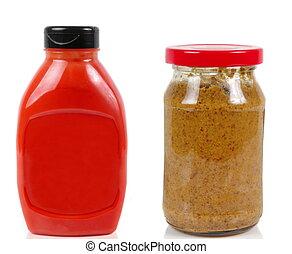 Mostaza y salsa