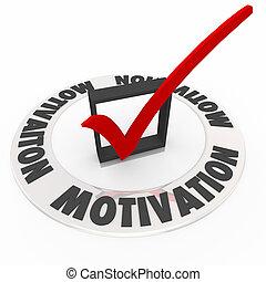 Motivación comprobada Markbox impulsa ambición necesaria