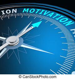 Motivación en brújula