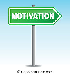 motivación, muestra de la flecha
