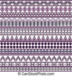 motives, púrpura, formas, geométrico, plano de fondo, africano