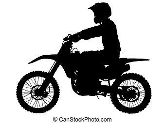 Moto deportivo dos