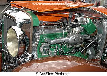 Motor anticuario