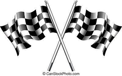 Motor de banderas a cuadros