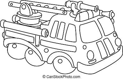 Motor de fuego esbozado