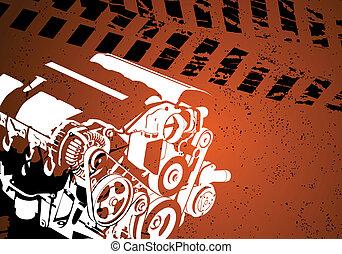 Motor de vector