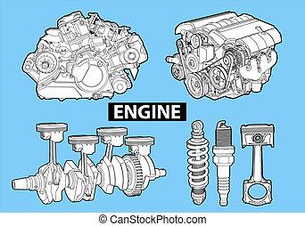 Motores de vector