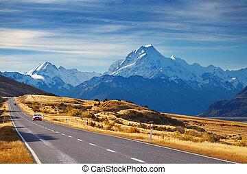 Mount Cook, Nueva Zelanda