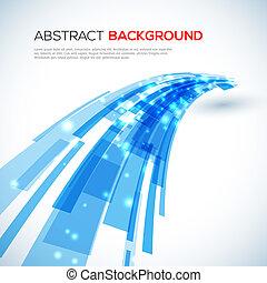 Mover un fondo abstracto azul