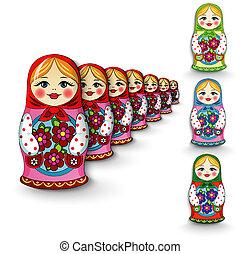 Muñeca rusa Matryoshka