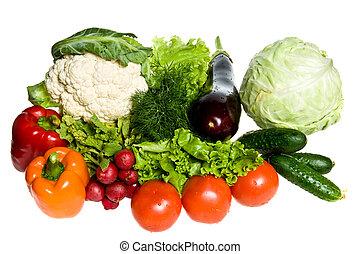 Muchas verduras
