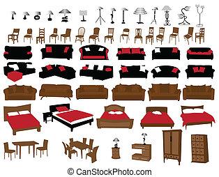 Muebles y luces