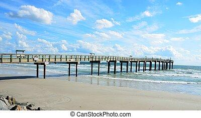 Muelle de pesca de San Agostino Florida