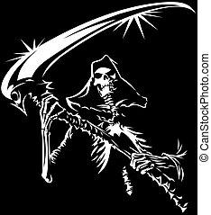 Muerte en blanco y negro