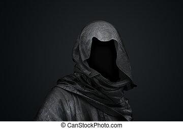 Muerte en el concepto de capucha