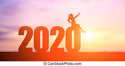 mujer de negocios, 2020