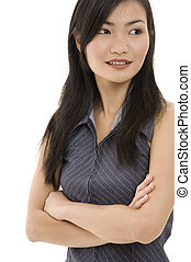 Mujer de negocios asiática 5