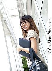 Mujer de negocios asiática