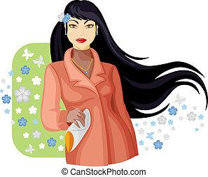 Mujer de primavera