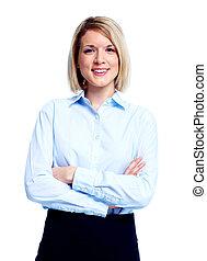 Mujer ejecutiva de negocios.