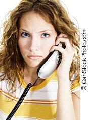 Mujer llamada adolescente
